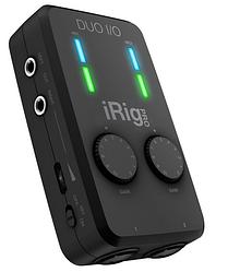 Мобільний двоканальний аудіоінтерфейс IK MULTIMEDIA iRig Pro Duo I/O