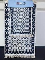 Набор ковриков для ванной комнаты SUNTEKS 2 предмета прорезиненные Турция лучшая цена, фото 1