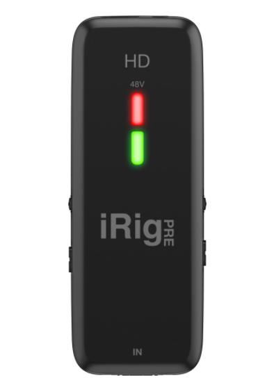 Цифровий інтерфейс мікрофона високої чіткості зі студійним якістю передпідсилювача IK MULTIMEDIA iRig Pre HD