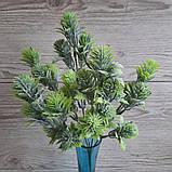 Зелена гілка з бутонами - 40 грн (5 гілочок), фото 2