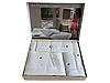 Набор полотенец Maison D'or Soft Hearts White-Red махровые 30-50 см,50-100 см,85-150 см белые