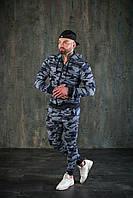 Спортивный костюм WOW Мужской оверсайз ВЕСНА худи с капюшеном Качество LUX (Размер S) Хаки
