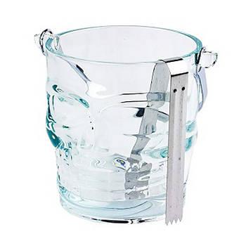 """Ведро для льда с щипцами High Quality """"Череп"""" 1.0 л (R29802)"""