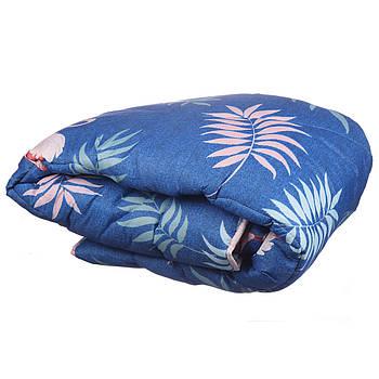 Одеяло полуторное Constancy 145 х 205 (29373) Фламинго на синем