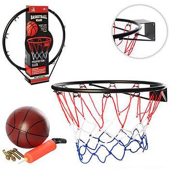 Баскетбольное кольцо BasketBall Board + мяч + насос (MS 0169)