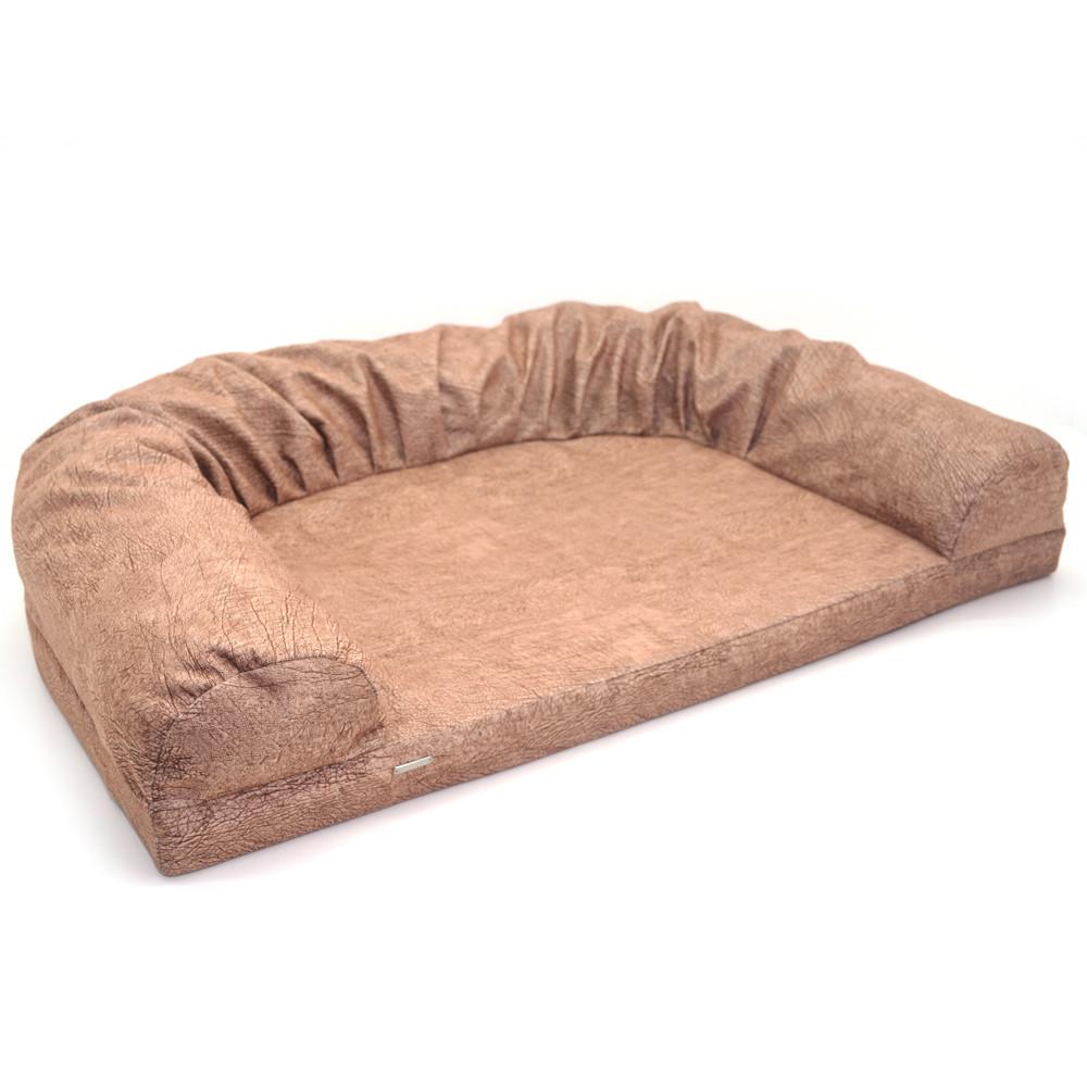 Диван для собак и котов Мрия  №0 420х600х150 коричневый