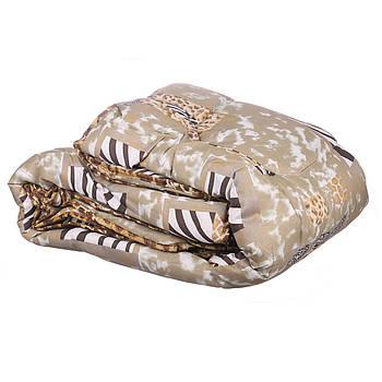 Одеяло двухспальное Constancy 175 х 205 (29354) Животные принты на бежевом