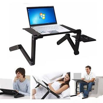 Столик трансформер для ноутбука Laptop Table 8 LT