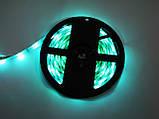 Світлодіодна стрічка 5v usb led 5050 bluetooth RGB 5 метрів різнобарвна (управління через телефон), фото 9