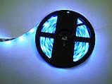 Світлодіодна стрічка 5v usb led 5050 bluetooth RGB 5 метрів різнобарвна (управління через телефон), фото 6