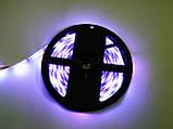 Світлодіодна стрічка 5v usb led 5050 bluetooth RGB 5 метрів різнобарвна (управління через телефон), фото 8