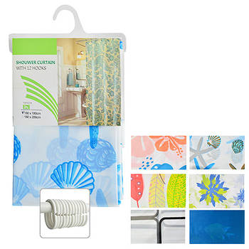 Шторка для ванной Shower Curtain 1.8 х 1.8 м (R29612)