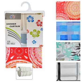 Шторка для ванной Shower Curtain 1.8 х 1.8 м (R29847)
