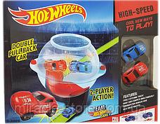 Гоночний трек з інерційними машинками проїзд через центрифугу Hot Wheels, фото 2