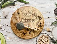 Набор для пиццы Ø 27 (доска, нож), фото 1