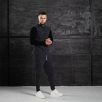 Комплект Asos Classic 2021 рубашка + брюки Костюм мужской двойка на весну LUX Качество (Размер S) Полоска