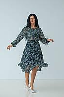 """Красивое платье """"326"""" Размеры 44,50."""