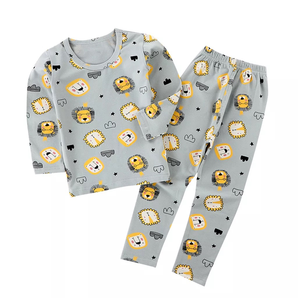 Дитяча піжама для хлопчика з принтом лева