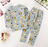 Дитяча піжама для хлопчика з принтом лева, фото 2