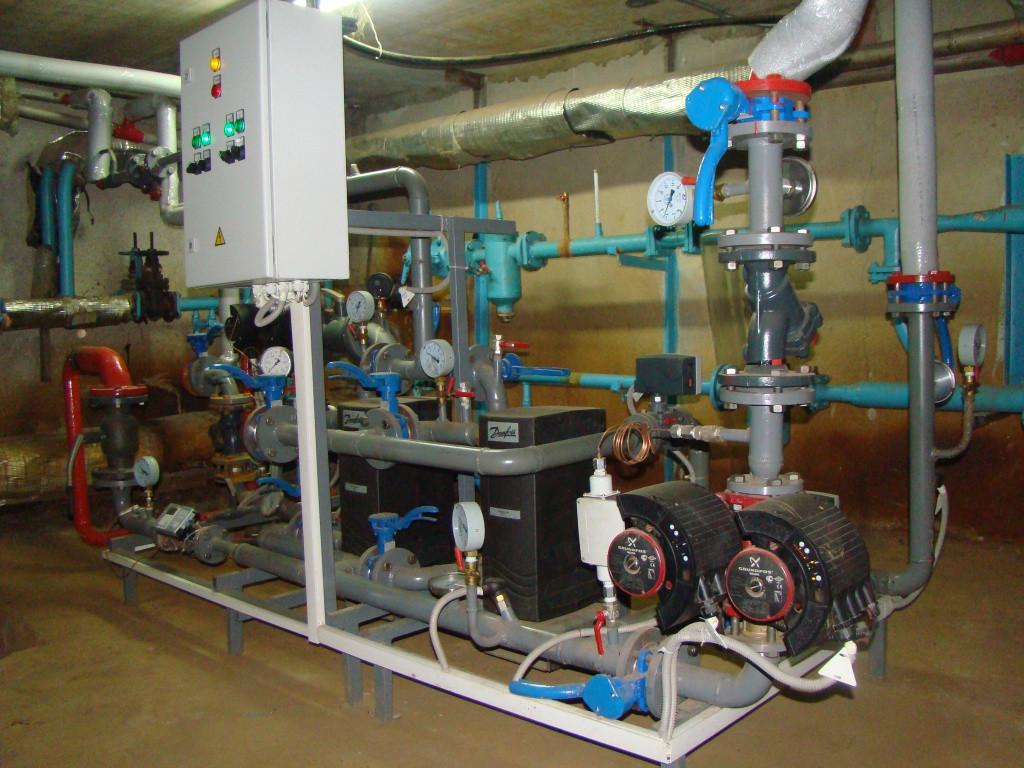 Блочные автоматизированные индивидуальные тепловые пункты (ИТП)