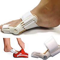Ортопедическая вальгусная шина-бандаж для большого пальца ноги, цвет белый 1 шт