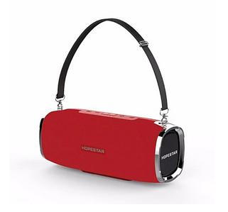 Потужна Bluetooth колонка Hopestar A6 (червона) водонепроникна вологозахищена портативна бездротова