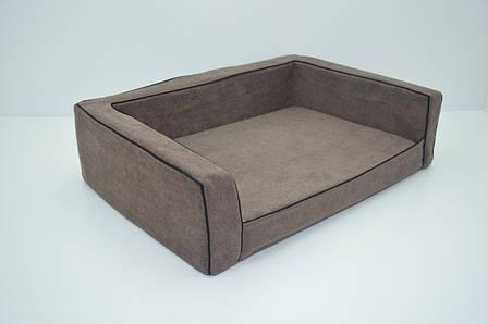 Диван для собак Міраж №5 700х1000х230 коричневий, фото 2