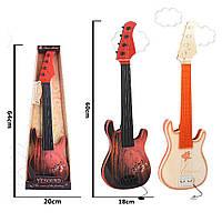 Гітара зі струнами 2 кольори 58см 898-21