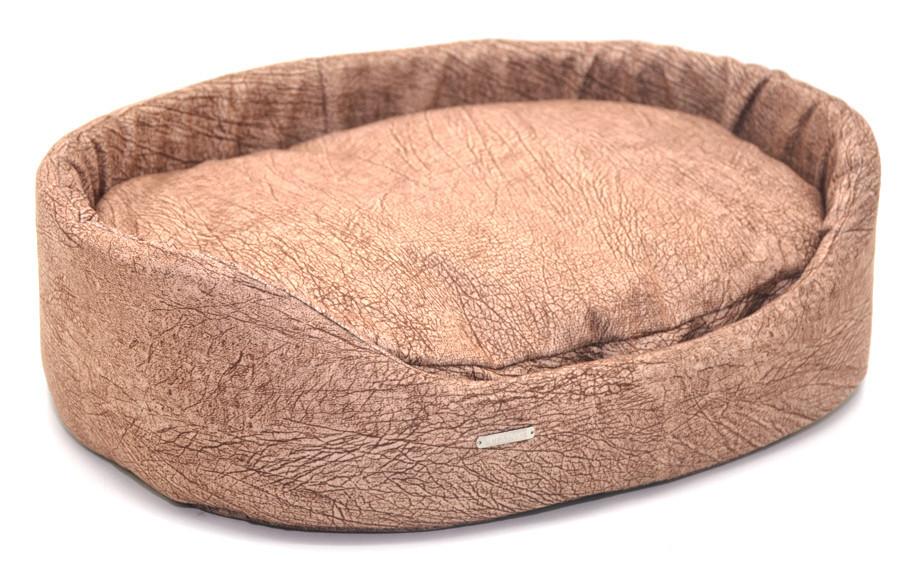 Лежак для собак і котів №1 320х430х125 коричневий