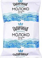 """Молоко 2.5% Ультрапастеризоване, ТМ """"Галичина"""", М / У 900г, фото 1"""