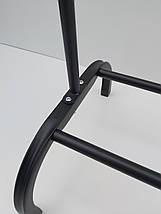 Одинарная стойка для одежды черного цвета, фото 3