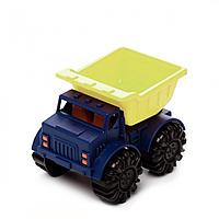Машинка игрушка для игры с песком Мини-Самосвал цвет лаймовый океан ОРИГИНАЛ Battat BX1418Z