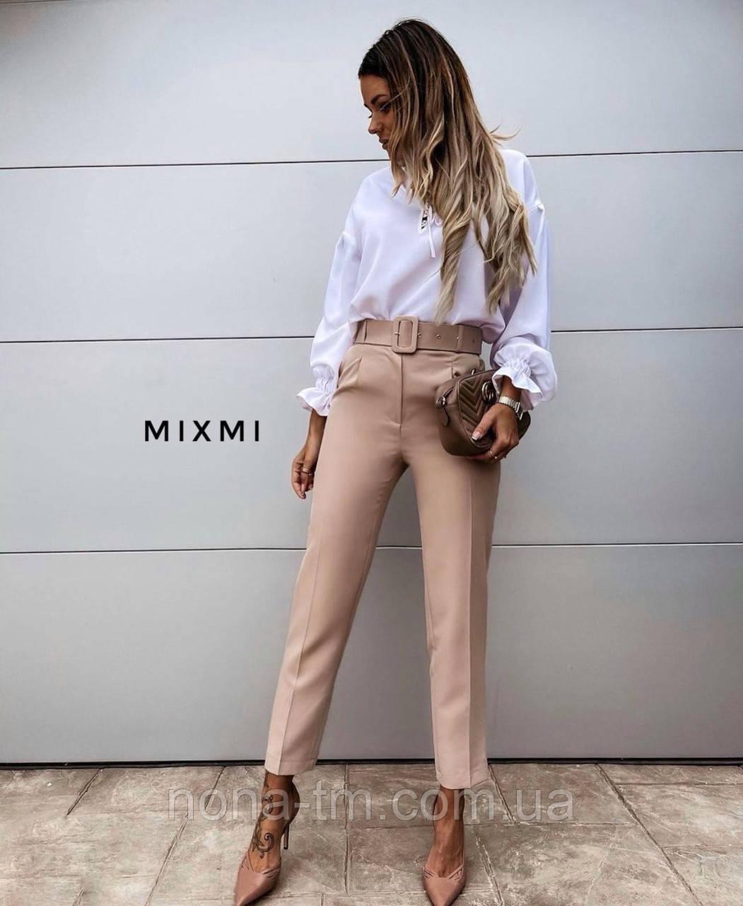 Жіночі брюки стильні укорочені