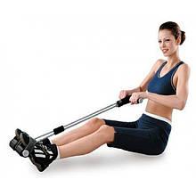 Тренажёр для мышц рук, живота и спины TUMMY TRIMMER эспандер для дома