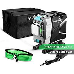 3D DEKO DKLL12tdP02 12 линий 360 градусов Зеленый ЛУЧ ➜ до 50м лазерный уровень нивелир