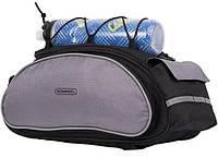 Велосипедная сумка Roswheel 13l на багажник велосумка 13 литров