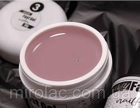 Жидкий гель #3 30г Easy Fast Gel Nailapex, для укрепления и наращенных