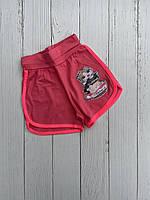 """Дитячі шорти для дівчинки """"MEOW"""" 5-8 років, колір уточнюйте при замовленні, фото 1"""