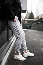 Універсальні чоловічі штани з смужками Midle Сірі, фото 3