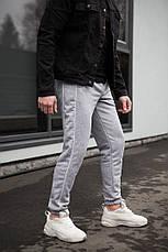 Універсальні чоловічі штани з смужками Midle Сірі, фото 2