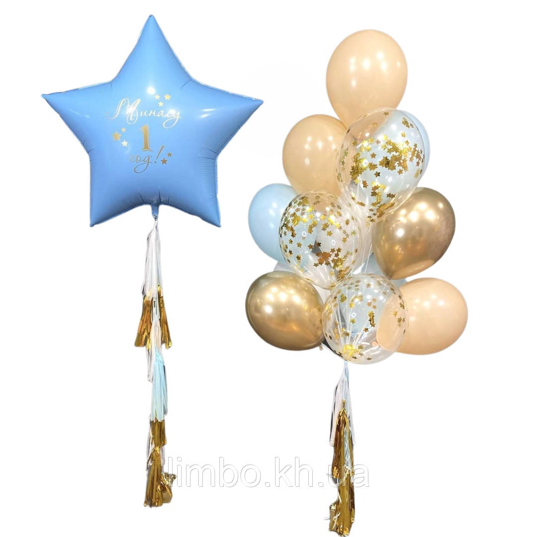 Кульки повітряні на день народження