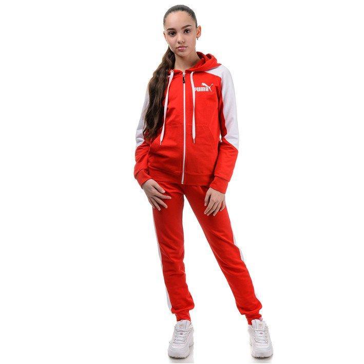 Спортивный подростковый костюм на девочку