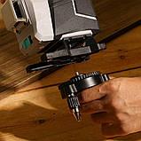 3D DEKO DKLL12tdP02 12 линий 360 градусов Зеленый ЛУЧ ➜ до 50м лазерный уровень нивелир, фото 6