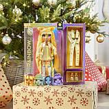 Лялька Rainbow High Санні Sunny Madison Yellow Clothes Жовта Мосту Хай Санні Медісон 569626 Оригінал, фото 6