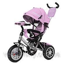 Триколісний велосипед Tilly Camaro T-362/2 (рожевий колір)
