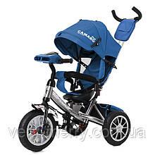 Трехколесный велосипед Tilly Camaro T-362/2 (синий цвет)