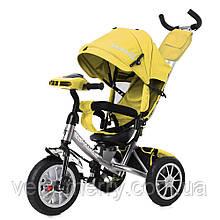 Триколісний велосипед Tilly Camaro T-362/2 (жовтий колір)