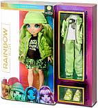 Кукла Rainbow High Jade Hunter Green Оригинал Рейнбоу Хай Джейд Хантер Зеленая 569664, фото 10