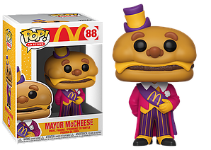 Фігурка Funko Pop Майор Макчиз МакДональдс Mayor McCheese McDonalds 10см MMC 88