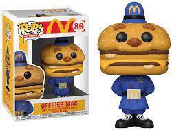 Фігурка Funko Pop Офіцер Мак МакДональдс Officer Mac McDonalds 10см MD OM 89